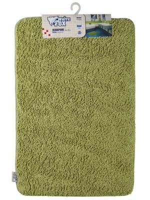 Коврик для ванной WHITE FOX. Цвет: зеленый