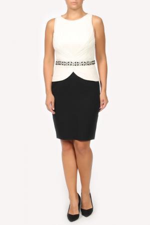 Платье Luisa Spagnoli. Цвет: черно-белый