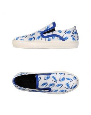 Низкие кеды и кроссовки BE ǀ NEGATIVE. Цвет: синий