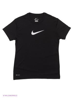 Футболка LEGEND SS TOP YTH Nike. Цвет: черный