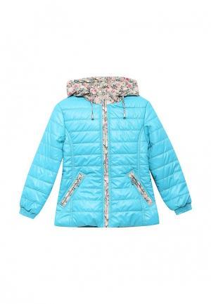 Куртка утепленная Saima. Цвет: голубой