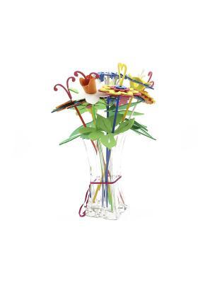 Игрушка для творчества букет цветов (пакет 9 цв.) БОМИК. Цвет: голубой