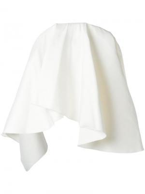 Блузка Laurel Solace. Цвет: белый