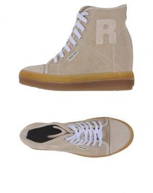 Высокие кеды и кроссовки RUCO LINE. Цвет: песочный