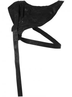 Сумка через плечо Barbara I Gongini. Цвет: чёрный