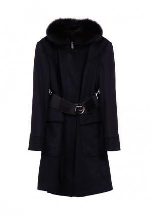 Пальто GALLOTTI. Цвет: черный