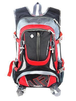 Рюкзак UFO PEOPLE. Цвет: черный, серый, красный