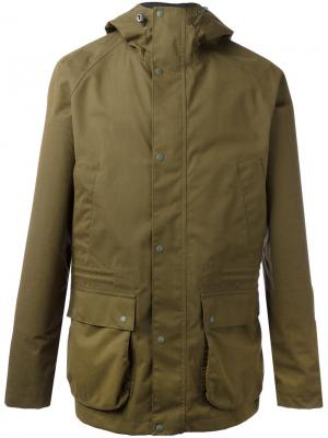 Downpour jacket Barbour. Цвет: зелёный