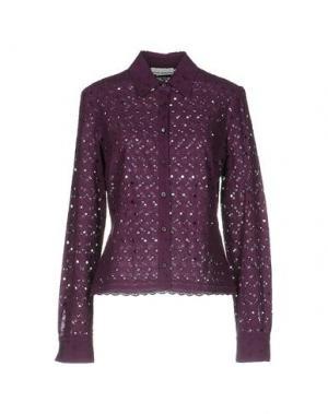 Pубашка METRADAMO. Цвет: фиолетовый