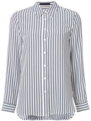 Рубашка в полоску Jenni Kayne. Цвет: белый
