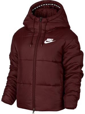 Куртка W NSW SYN FILL JKT HD Nike. Цвет: красный, белый