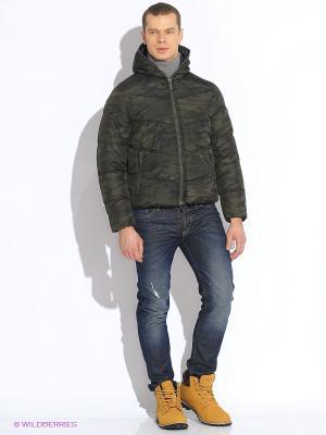 Куртка WPM. Цвет: коричневый
