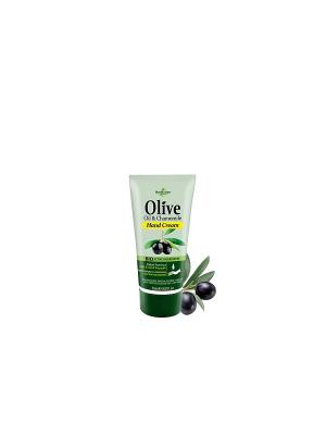 Герболив мини крем для рук с экстрактом ромашки, 30мл Madis S.A.. Цвет: оливковый