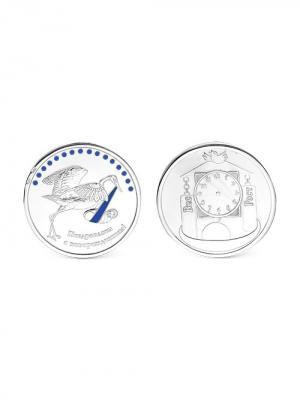 Сувенир Серебро России. Цвет: серебристый
