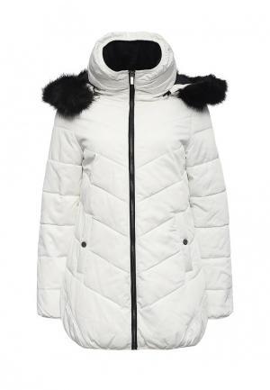 Куртка утепленная Ellesse. Цвет: белый