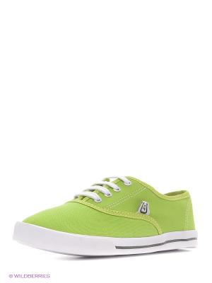 Кеды 4U. Цвет: светло-зеленый