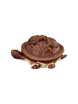 Фигурка декоративная 3 черепашки Elan Gallery. Цвет: коричневый