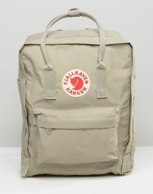 Fjallraven Серо-коричневый рюкзак Kanken. Цвет: бежевый