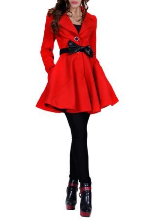 Пальто FRANCESCA LUCINI. Цвет: красный