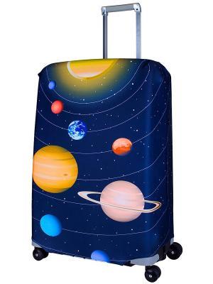 Чехол для чемодана  Solar L/XL Coverway. Цвет: черный