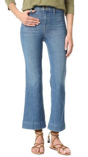 Укороченные джинсы Sea THE GREAT.. Цвет: прозрачная вода выцветший