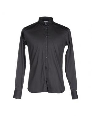 Pубашка AGLINI. Цвет: темно-зеленый