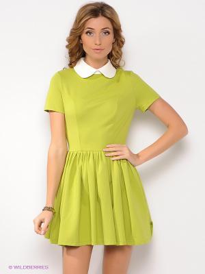 Платье Анна Чапман. Цвет: салатовый