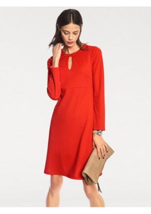 Платье RICK CARDONA by Heine. Цвет: красный, черный