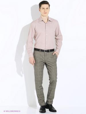 Рубашка Conti Uomo. Цвет: светло-коричневый