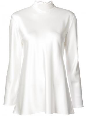 Roll neck blouse Peter Cohen. Цвет: белый