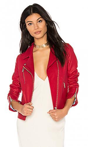 Куртка reed DOMA. Цвет: красный