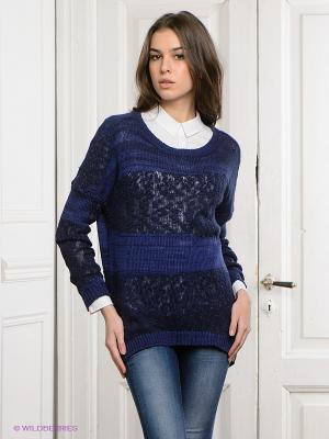 Свитер Vero moda. Цвет: синий