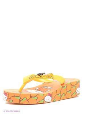 Пантолеты Kakadu. Цвет: оранжевый