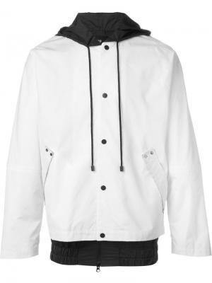 Куртка с капюшоном Berthold. Цвет: чёрный