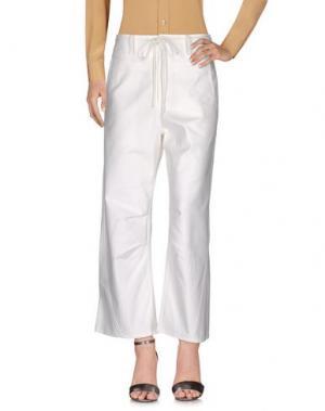 Повседневные брюки TSUMORI CHISATO. Цвет: белый
