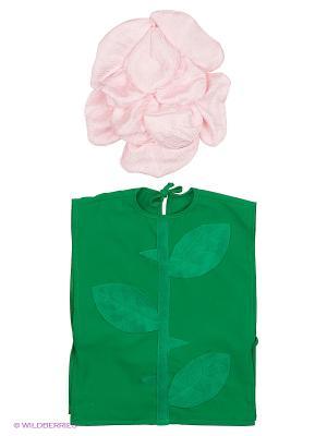 Карнавальный костюм Роза Волшебный мир. Цвет: розовый