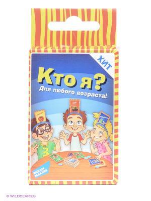 Игра детская настольная Кто я. Mini DREAM MAKERS. Цвет: красный, синий, желтый