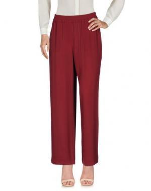 Повседневные брюки N_8. Цвет: пурпурный