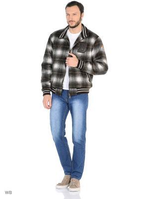 Куртка Batell. Цвет: коричневый