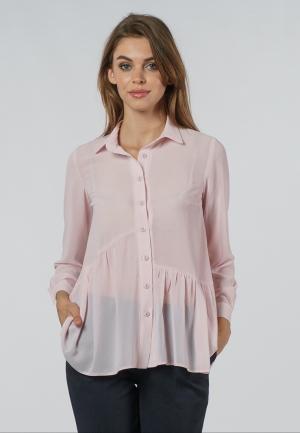 Блуза OKS by Oksana Demchenko. Цвет: розовый