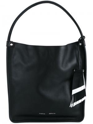 Средняя сумка-тоут Proenza Schouler. Цвет: чёрный