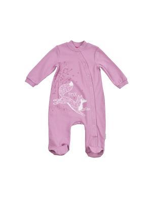 Комбинезон для детей KOGANKIDS. Цвет: розовый