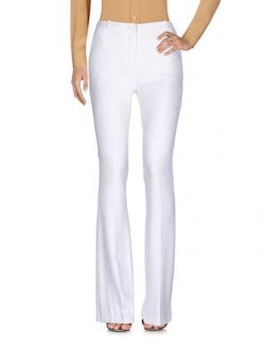 Повседневные брюки CAPUCCI. Цвет: белый