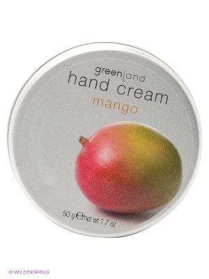 Крем для рук, манго 50 мл Greenland. Цвет: белый