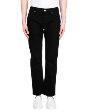 Джинсовые брюки FALLEN. Цвет: черный