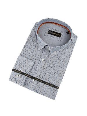 Рубашка MONDIGO. Цвет: темно-серый