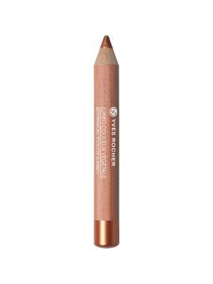 Тени-карандаш для век перламутровые 13 Красная Медь Yves Rocher. Цвет: бронзовый