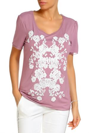Блуза LOLA PALTINGER. Цвет: мультицвет