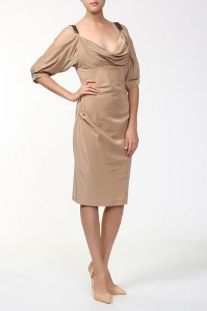 Платье Dina Bar-El. Цвет: мультицвет