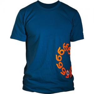 ORANGATANG Logo Organic Cotton T-shirt SS14 BLUE S. Цвет: blue